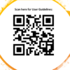 Scan Here for User Guidelines